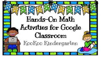 Google Classroom for Hands-On Math Activities