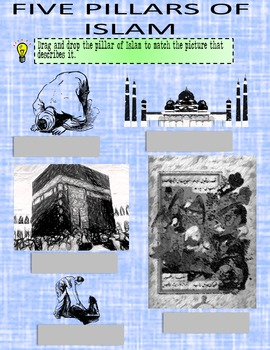 Rise of Islam Self-Guided Notes for Google or OneDrive Distance Learning