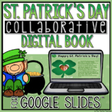 St. Patrick's Day Collaborative Book in Google Slides☘