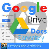 Google Docs Elementary Lesson & Activities UPDATED 2018
