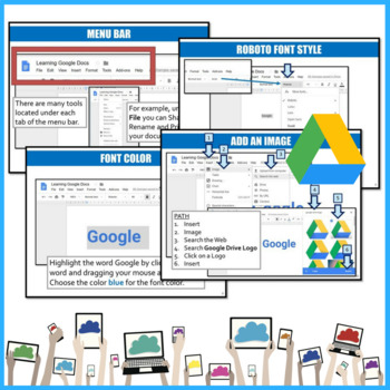 Google Docs Elementary Lesson & Activities