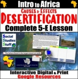 Google   Desertification Causes & Effects Digital Lesson  