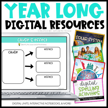 Social Studies Digital Activities Bundle {Year Long Units}