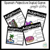 Google Digital Game in Spanish *Adjectives*