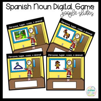Google Digital Game in Spanish *Nouns*