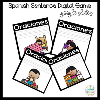 Google Digital Game in Spanish *Oraciones*