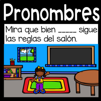 Google Digital Game in Spanish *Pronouns*