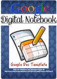 Google Digital Workbook Template