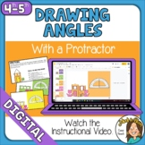 Google Distance Drawing Angles with a Protractor  Self-Che