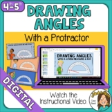 Google Distance Learning Drawing Angles with a Protractor