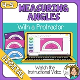 Google Distance Learning Measuring Angles with a Protracto