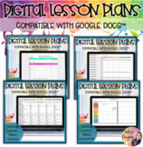 Google Doc-Bundled Lesson Plan Templates *Growing*