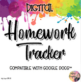 Google Doc- Homework Tracker