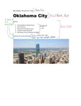 Google Docs 02 - Itinerary