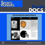 Google Docs - Black Sports Pioneers Research Activity