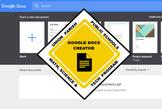 Google Docs Open Badges