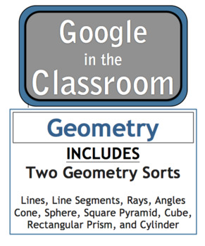 Google Docs Download Geometry Sort - 3rd Grade - VA SOL