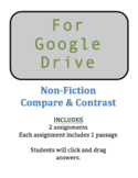 Google Download - Non-Fiction Compare & Contrast - 2 Assignments - SOL