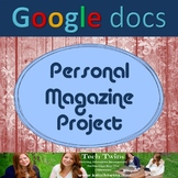 Google Docs - 14 Page Magazine Project