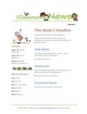 Google Docs Elementary Newsletter Template