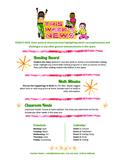 Google Docs Elementary Newsletter Template: Happy Kids