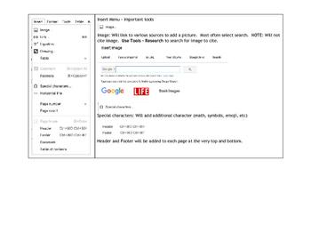 Google Docs: Formatting Tools Explained