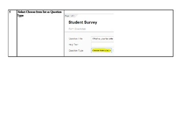 Google Forms Survey Project STEM online survey