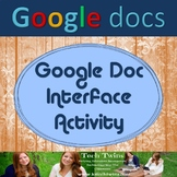 Google Docs - Getting to know Google Docs Interface