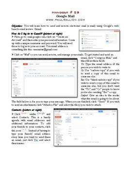 Google Docs Handout Series