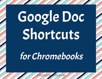 Google Docs Keyboard Shortcuts Printables