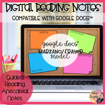Google Docs-Marzano/Frayer Vocabulary Model