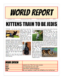 Project Based Learning Create a Newspaper using Google Doc