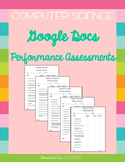 Google Docs Performance Assessment Set