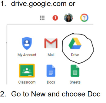 Google Docs Review (Scavenger Hunt) with Infused with Computer Science Vocab