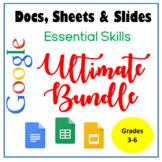 Google Docs, Sheets & Slides Essential Skills Ultimate Bundle