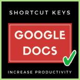 Google Docs Shortcut Keys