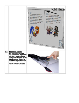 Google Docs Story Book Project make a fold up book