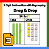 Google Docs ™︱Subtraction with Regrouping - Distance Learning