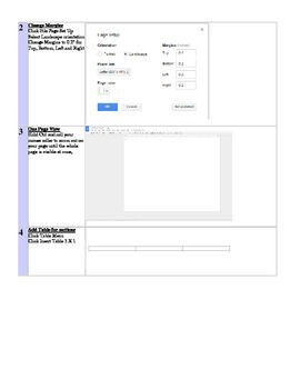 Google Docs Tri Fold Famous Person Brochure Lesson Martin Luther King, Jr. Theme