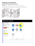 Project Based Learning Tri Fold MLK or other Brochure using Google Docs