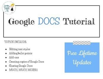 Google Docs Tutorial *FREE LIFETIME UPDATES*