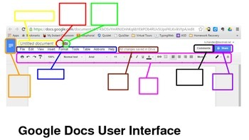 Google Docs User Interface Intro