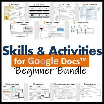Beginners Skills & Activities Bundle (4 lessons) for Google Docs™