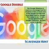 Google Doodle Scavenger Hunt