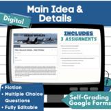 Google Classroom - Main Idea & Details - Nonfiction- 3 Ass