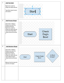 Google Draw Flowchart Project Teach your students to create Flowcharts