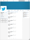Google Drawing Social Media Templates - EDITABLE