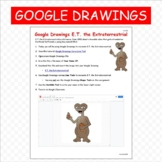 Google Drawings E.T. Extraterrestrial Google Classroom