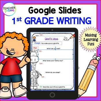 Google Drive 1st Grade Writing for Google Classroom
