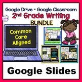 Google Classroom Activities | 2nd Grade | Digital Task Cards | Writing Bundle